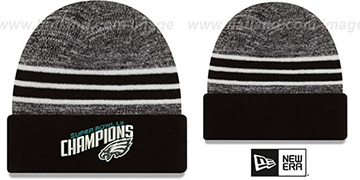 Eagles 'NFL SUPER BOWL LII CHAMPIONS ' Knit Beanie Hat by New Era