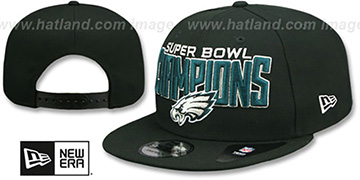 Eagles 'SUPER BOWL LII CHAMPIONS SNAPBACK' Hat by New Era