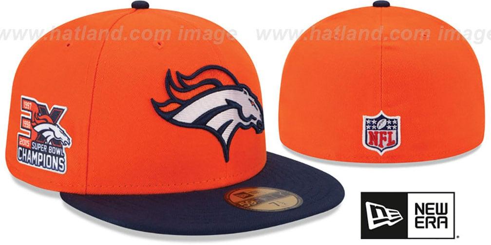 da59e66ad6a SuperBowlHats.com - Super Bowl Hats - Broncos  NFL 3X SUPER BOWL ...