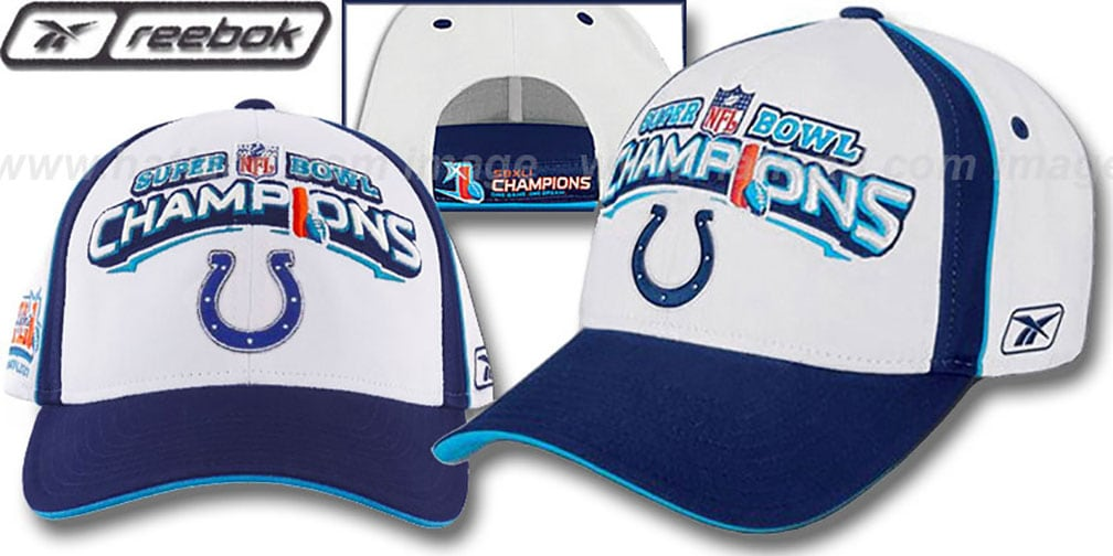Colts  XLI 'SUPERBOWL CHAMPS' Hat by Reebok