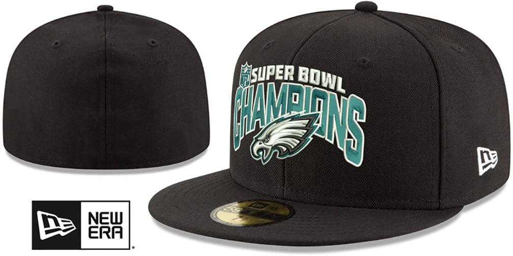 SuperBowlHats.com - Super Bowl Hats - Eagles  SUPER BOWL LII CHAMPS ... ce71e9251