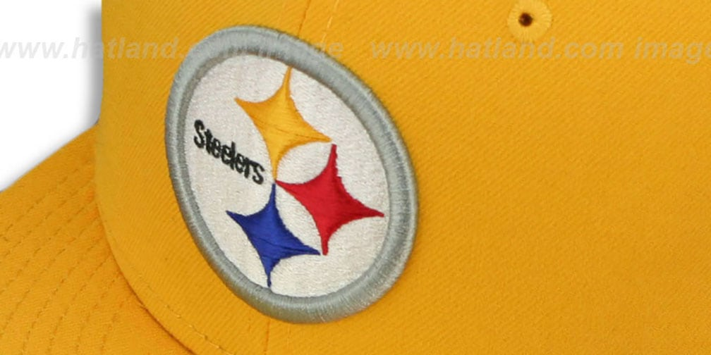 Steelers 'SUPER BOWL X' Gold Fitted Hat by New Era