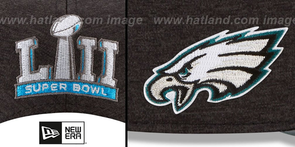 Eagles 'SUPER BOWL LII CHAMPIONS PARADE SNAPBACK' Hat by New Era
